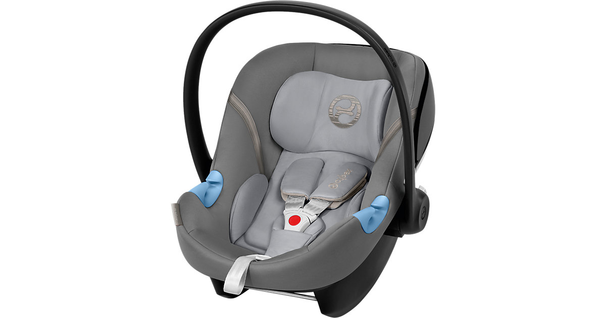 Babyschale Aton M, Manhattan Grey-Mid Grey, 2018 Gr. 0-13 kg