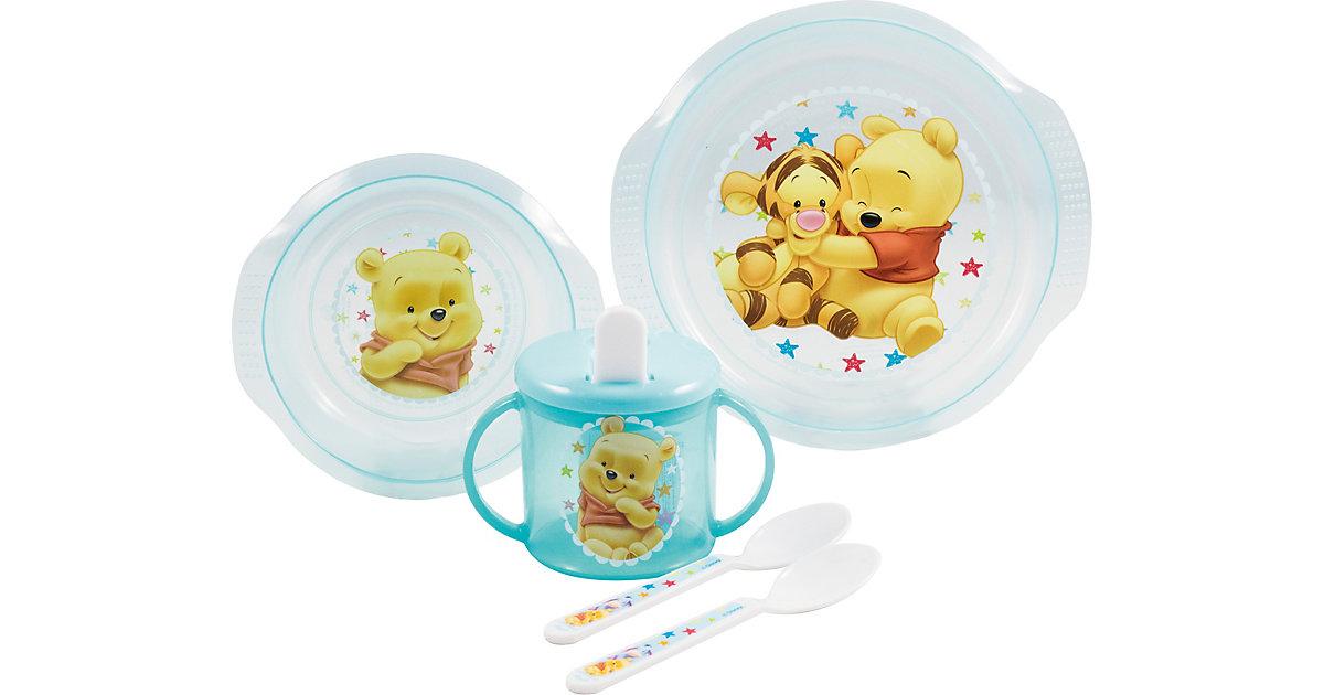 P:OS · PP-Baby-Geschirrset Winnie the Pooh, 5-tlg.