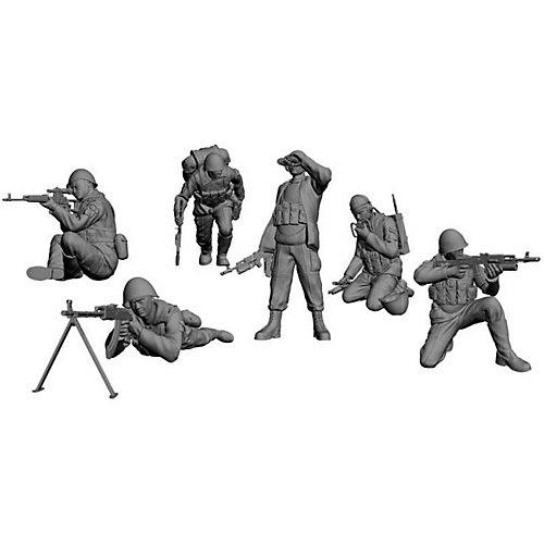 """Сборная модель Звезда """"Советские десантники. Афганистан"""", 1:35 от Звезда"""