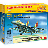 """Сборная модель Звезда """"Самолет Су-35"""", 1:72 (подарочный набор)"""