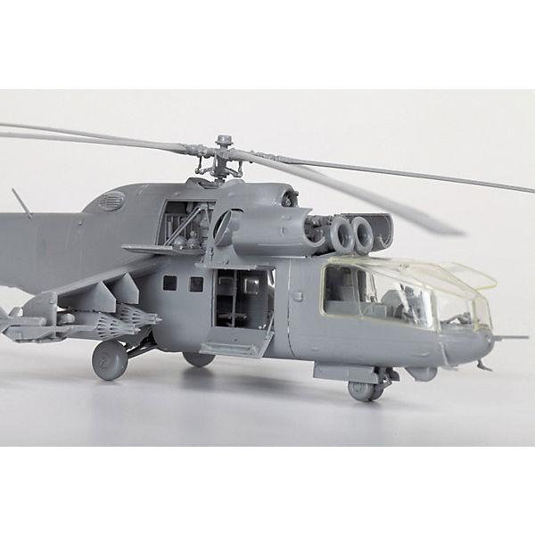"""Сборная модель Звезда """"Советский ударный вертолет Ми-24А"""", 1:72"""