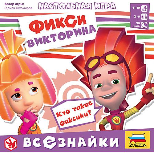 """Настольная игра Звезда """"Фиксики. Всезнайки"""" от Звезда"""