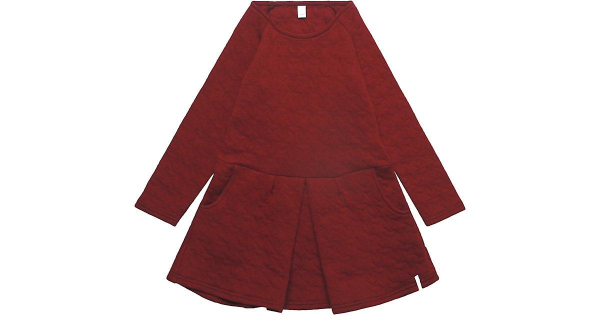 Kinder Kleid bordeaux Gr. 104/110 Mädchen Kleinkinder