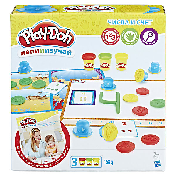 "Набор пластилина Hasbro Play-Doh ""Цифры и числа"""