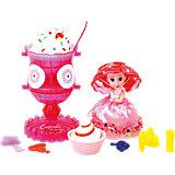 Игровой набор Cupcake Sunrise «Мороженое-туалетный столик с куклой-капкейк»