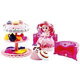 Игровой набор Cupcake Sunrise «Чайная вечеринка с куклой-капкейк и питомцем»