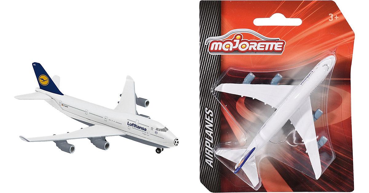 Airplane Boeing 747 Lufthansa