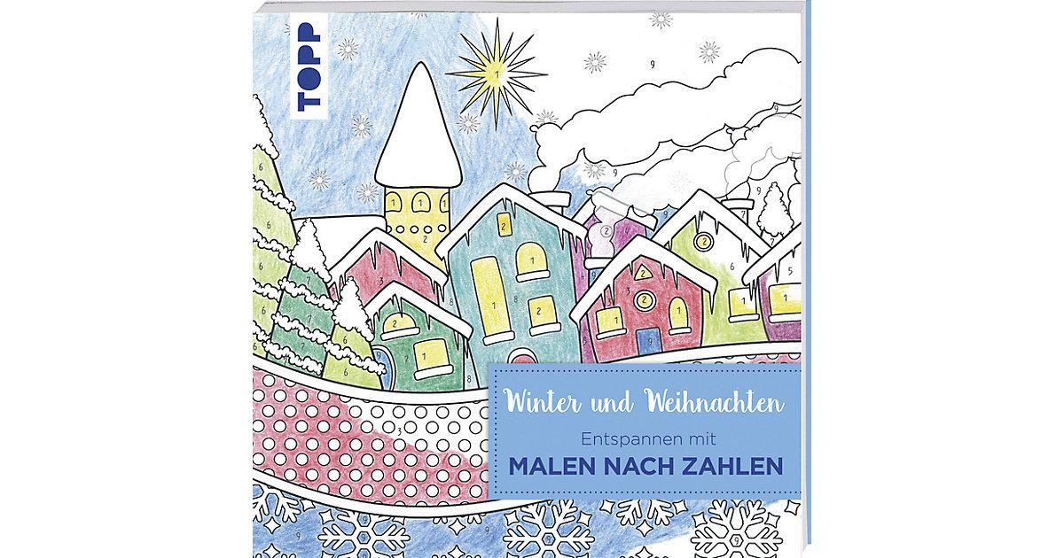 Entspannen mit Malen nach Zahlen: Winter und We...