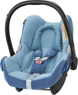 Maxi-cosi Cabriofix Baby Babyschale Kindersitz Blau Mit Isofix Base Und Zubehör Auto-kindersitze