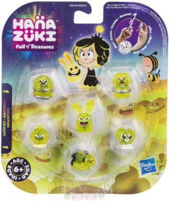 Фигурки-сокровища Hasbro Hanazuki, 6 штук, желтые