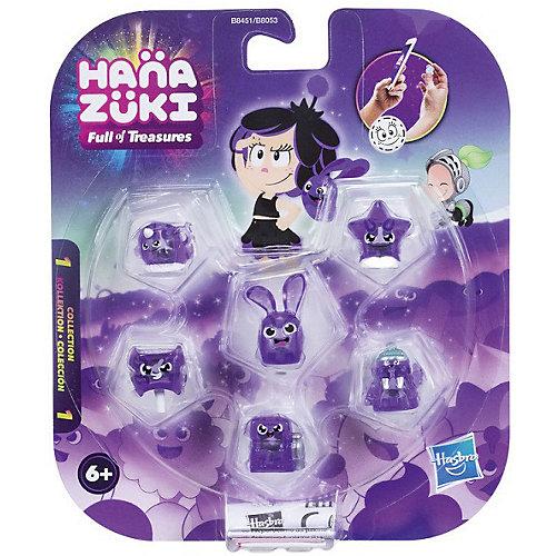 Фигурки-сокровища Hasbro Hanazuki, 6 штук, фиолетовые от Hasbro