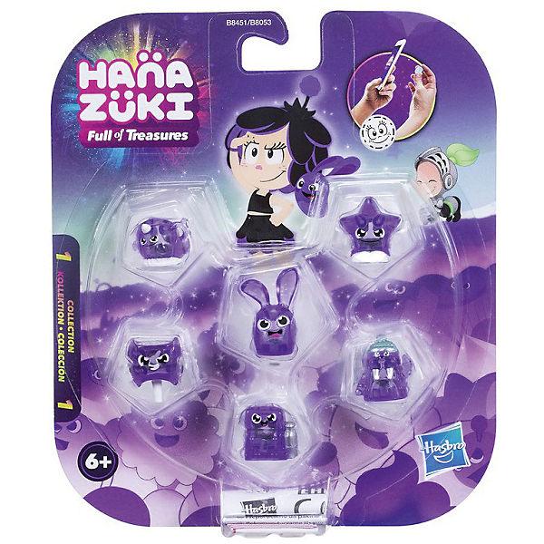 Фигурки-сокровища Hasbro Hanazuki,  6 штук (фиолетовые)