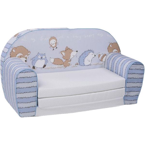 Mini Schlafsofa mini schlafsofa spielzimmer blau knorr baby mytoys