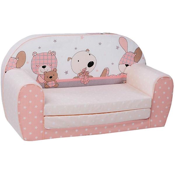 Mini Schlafsofa mini schlafsofa spielzimmer rosa knorr baby mytoys