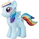 """Мягкая игрушка Hasbro My little Pony """"Плюшевые пони"""" Рэйнбоу Дэш, 30 см"""