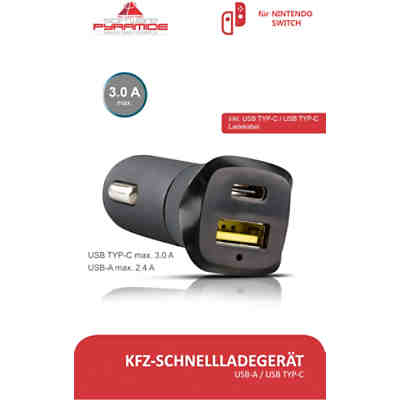 Nintendo Switch KFZ Ladekabel