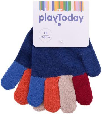 Перчатки PlayToday для мальчика - белый