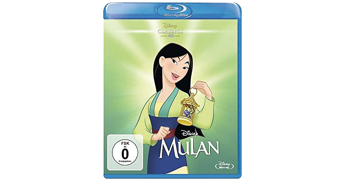 BLU-RAY Mulan (Disney Classics)