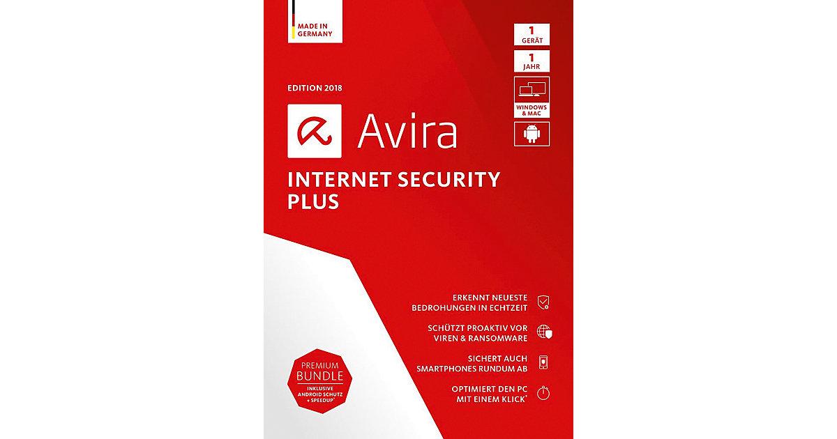 PC Avira Internet Security Plus 2018 - 1 Gerät