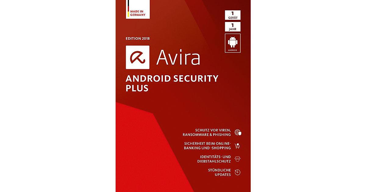 PC Avira Android Security Plus 2018 - 1 Gerät