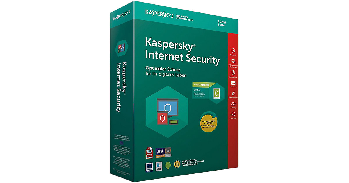 PC Kaspersky Internet Security + Android Securi...