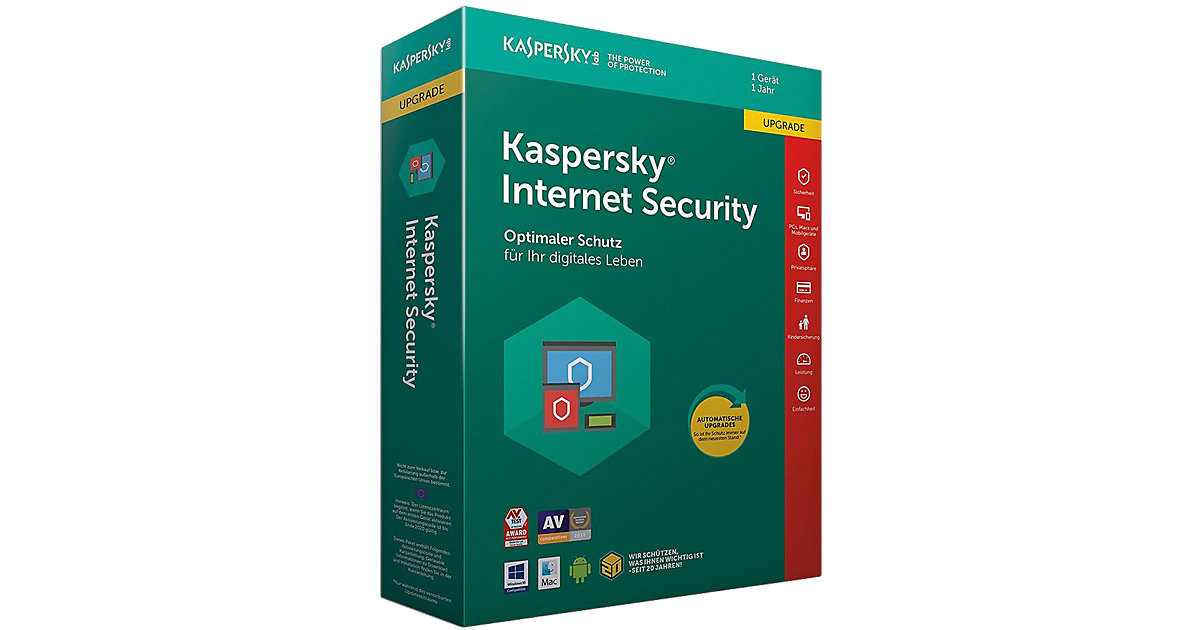 PC Kaspersky Internet Security Upgrade (CIAB)