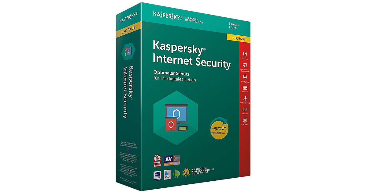 PC Kaspersky Internet Security 3 Geräte Upgrade...