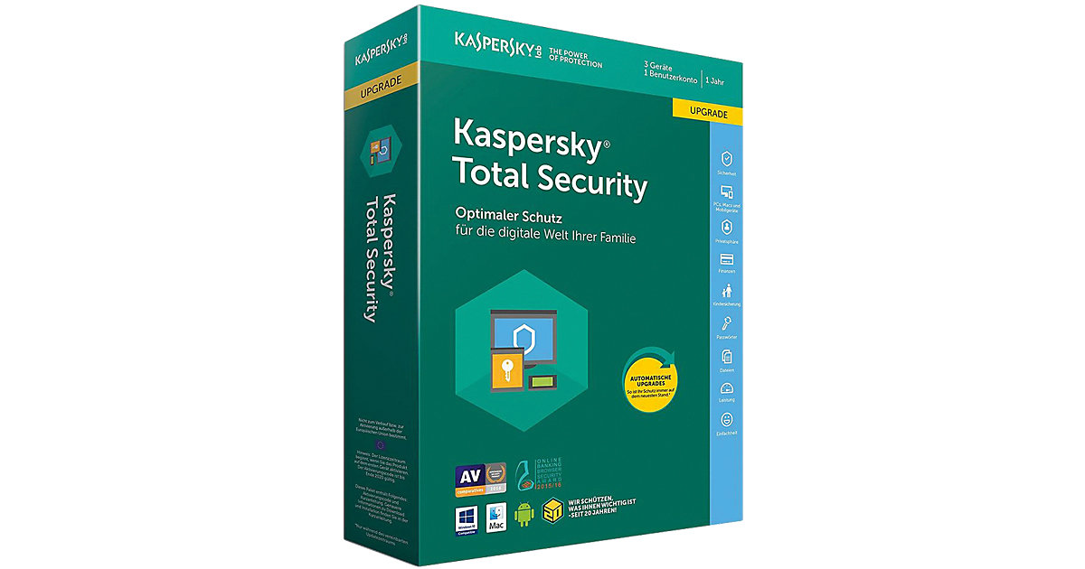 PC Kaspersky Total Security Upgrade (CIAB)