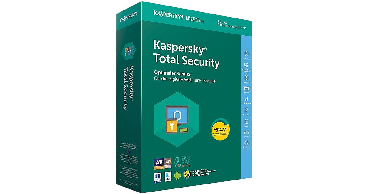 PC Kaspersky Total Security 5 Geräte 2 Benutzer...