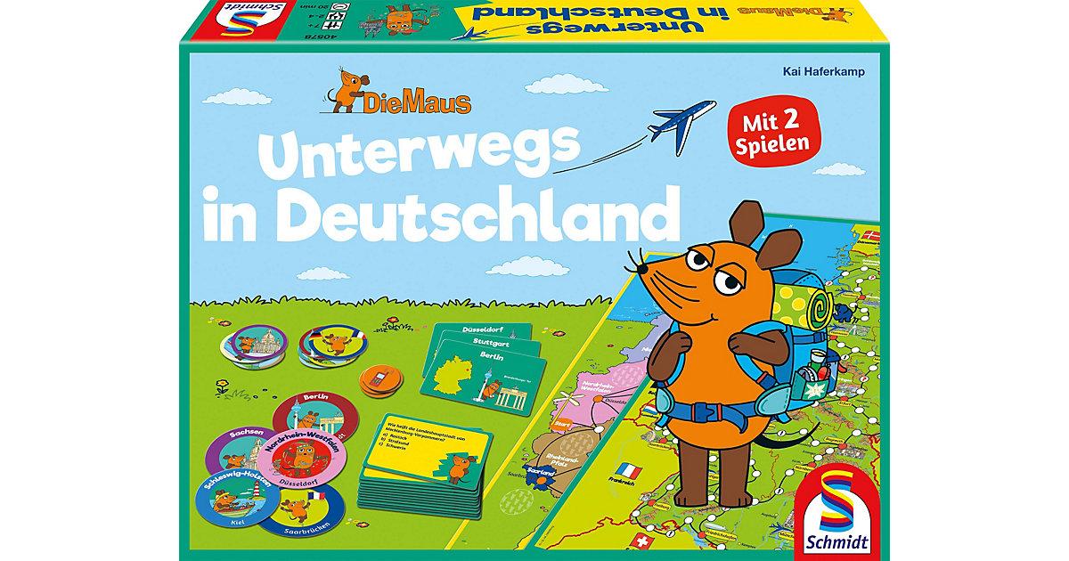 Die Maus, Unterwegs in Deutschland, 2 Spiele