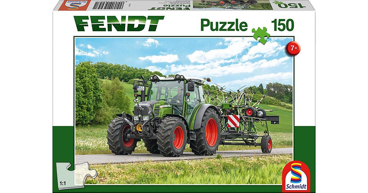 Puzzle 150 Teile Fendt 211 Vario mit Fendt Wender Twister