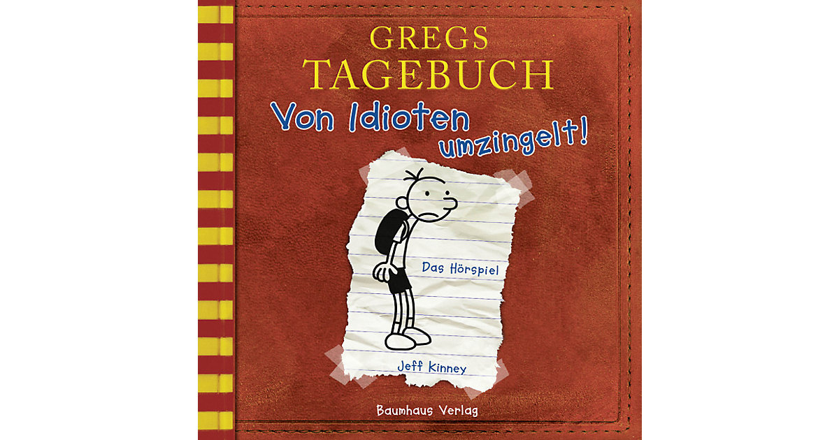 Gregs Tagebuch 1: Von Idioten umzingelt!, Audio-CD Hörbuch