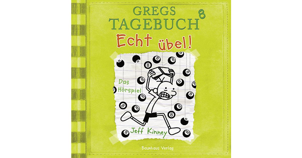 Gregs Tagebuch 8: Echt übel!, Audio-CD