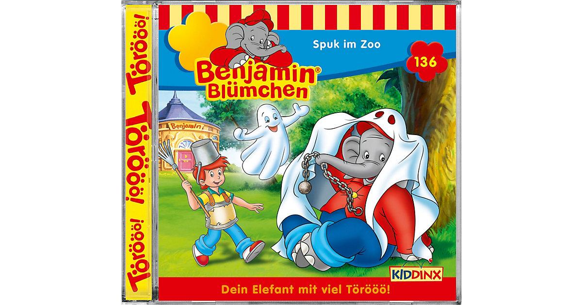 CD Benjamin Blümchen 136 - Spuk im Zoo Hörbuch