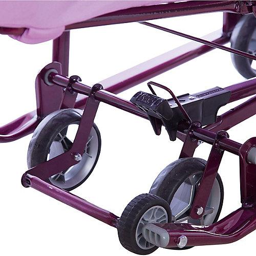 Санки-коляска Ника детям 7-4/1, лилия от Nika-Kids