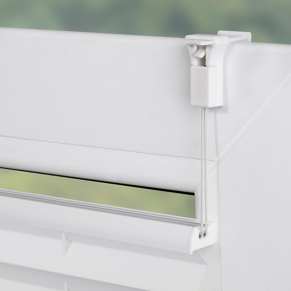 plissee klemmfix thermo ohne bohren verspannt verdunkelung wei lichtblick mytoys. Black Bedroom Furniture Sets. Home Design Ideas