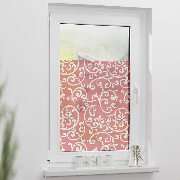 Fensterfolie selbstklebend sichtschutz blickdicht koralle lichtblick mytoys - Fensterfolie blickdicht ...