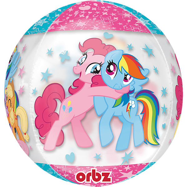 Folienballon Orbz My Little Pony
