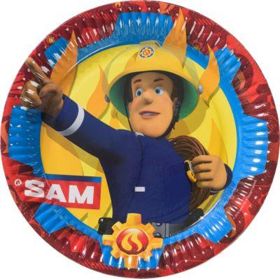 Partyset Feuerwehrmann Sam 72 tlg Feuerwehrmann Sam
