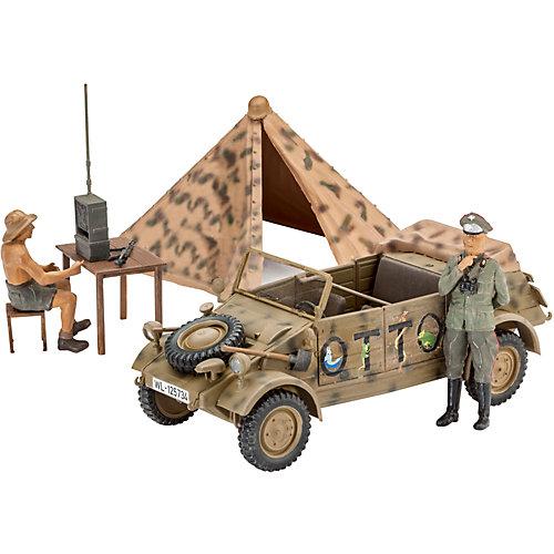 """Сборная модель Revell Немецкий автомобиль повышенной проходимости военного назначения """"Kübelwagen"""" Type 82 от Revell"""