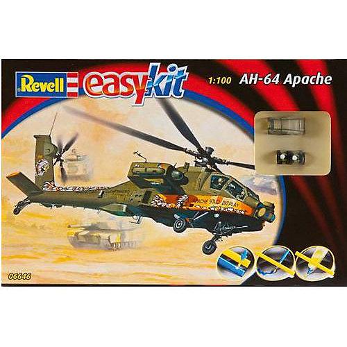 Сборка Боевой Вертолет AH-64 Apache от Revell
