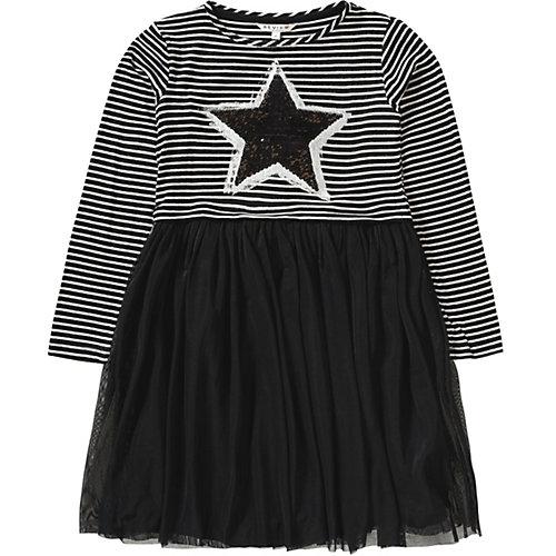 Review Kinder Kleid mit Tüllrock und Wendepailletten Gr. 128/134 Mädchen Kinder | 04058752805059