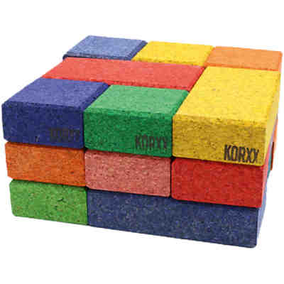 Korkbausteine Cuboid Mix Color, 19 Stk.