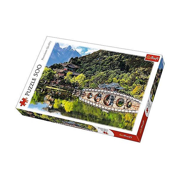 Пазлы «Бассейн Черного дракона, Лицзян, Китай», 500 деталей
