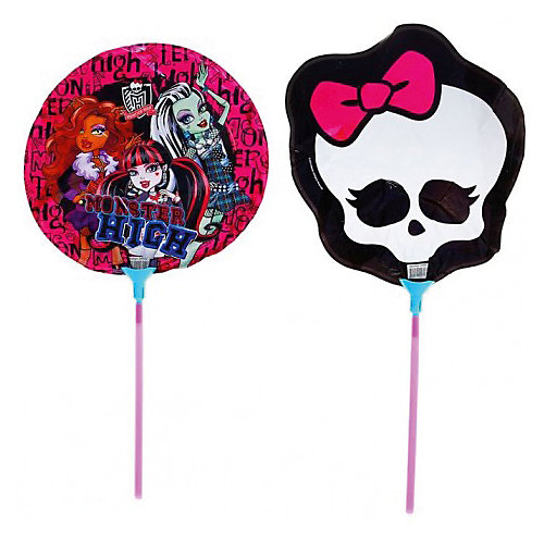 """Набор фольгированных мини-шаров Росмэн """"Monster High"""", 2 шт. от Росмэн"""