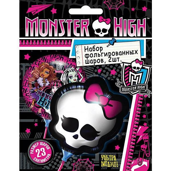 """Набор фольгированных мини-шаров Росмэн """"Monster High"""", 2 шт."""