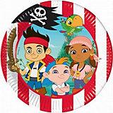 """Тарелки """"Джейк и пираты Нетландии"""" 20 см, 10 шт."""