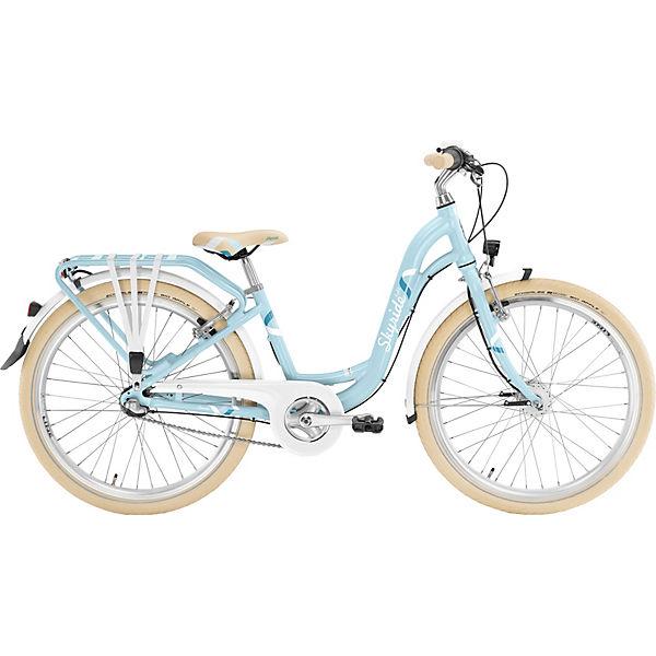 Fahrrad Skyride 24 7 Alu Light Classic Retroblau Puky Mytoys
