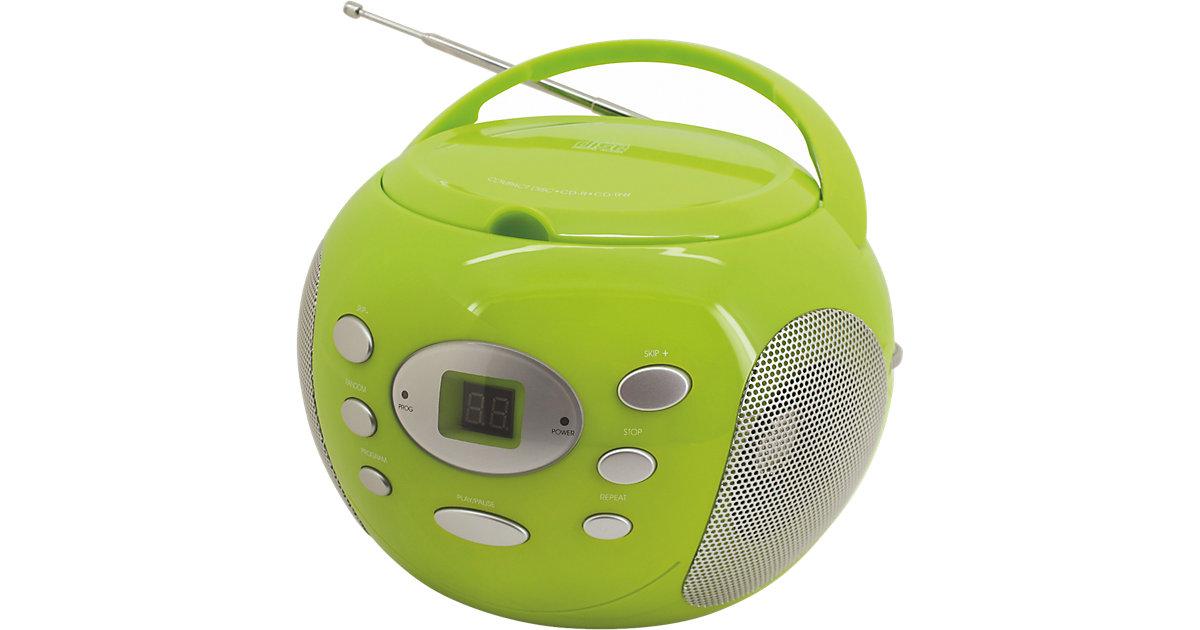CD Player mit Radio, grün