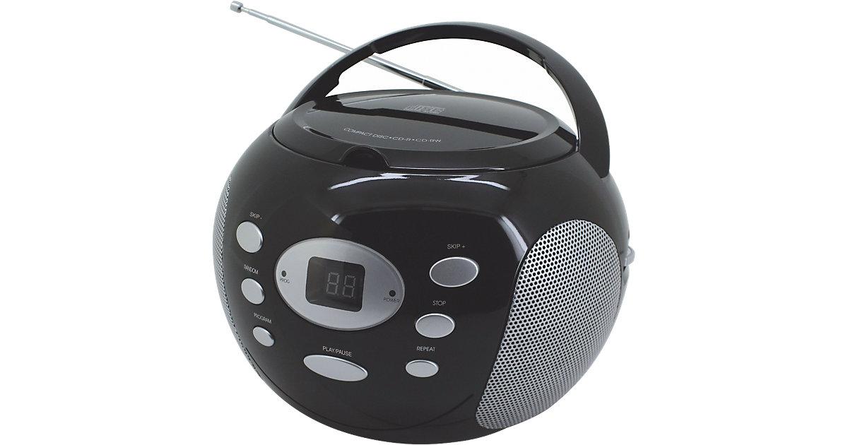 CD Player mit Radio, schwarz
